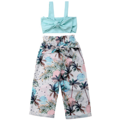 Harper Summer Palm Print Set