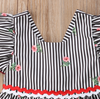 Riley Striped Floral Dress