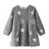 Star Eyed Grey Pocket Dress