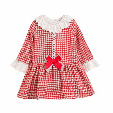 Tiana Red Pattern Dress