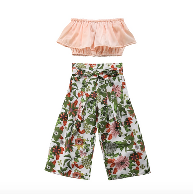 Bianca Two Piece Floral Summer Set