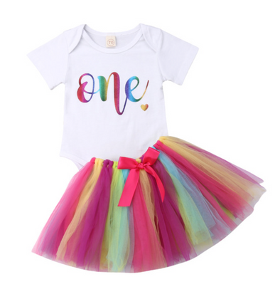 Flo Birthday Tutu Set