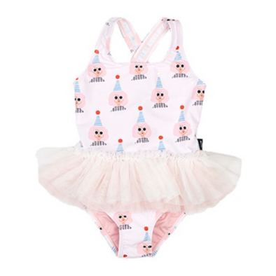 Isabella Clown Frill Tutu Swimsuit