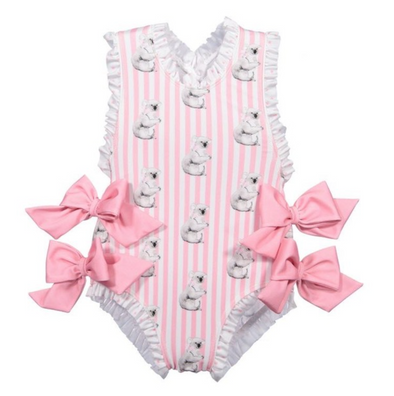 Naomi Koala Bow Swimsuit