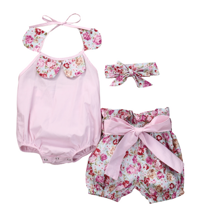 Tiff Pink Three Piece Set