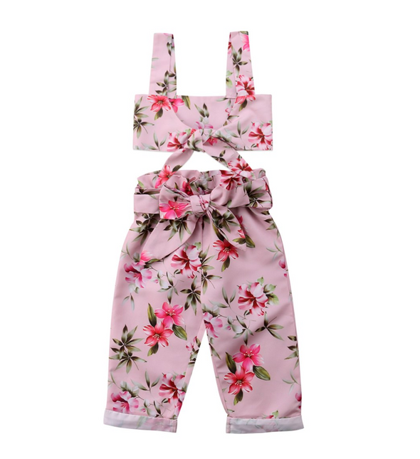 Betsy Two Piece Trouser Summer Set