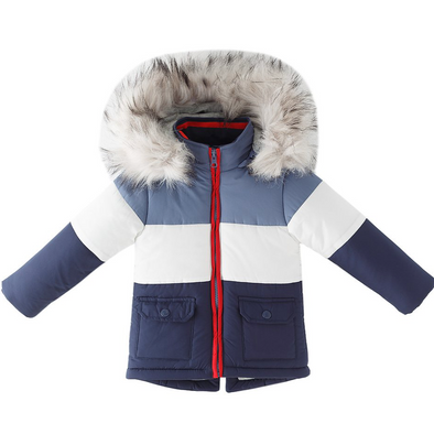 Finn Padded Faux Fur Hooded Coat