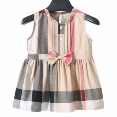 Aurora Camel Bow Dress