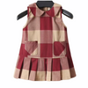 Italy Red Checked Dress