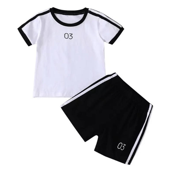 James Number Three Shorts Set
