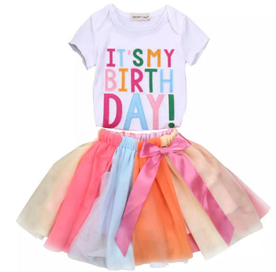 Madeline Birthday Multi Tutu Set
