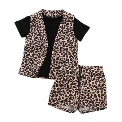 Sadie Leopard Three Piece Set