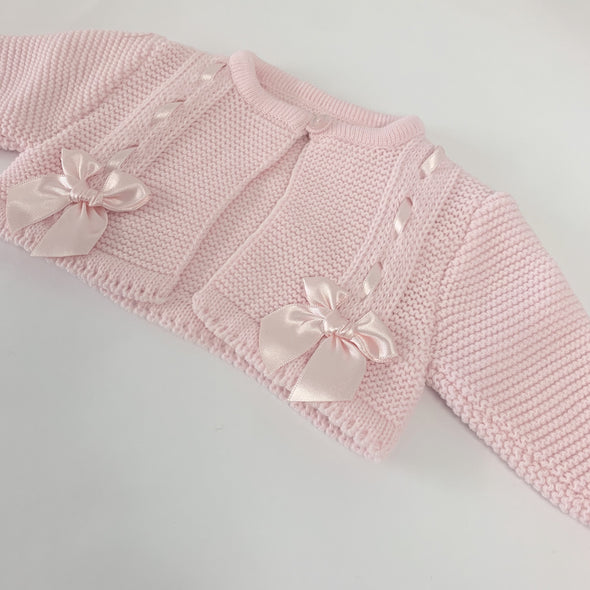 Molly Pink Knitted Cardigan
