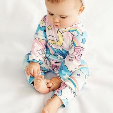 Georgia Unicorn Romper Suit