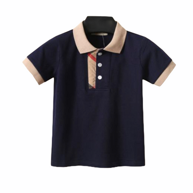 Hayden Navy Poly T-Shirt