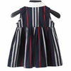 Graze Navy Striped Dress