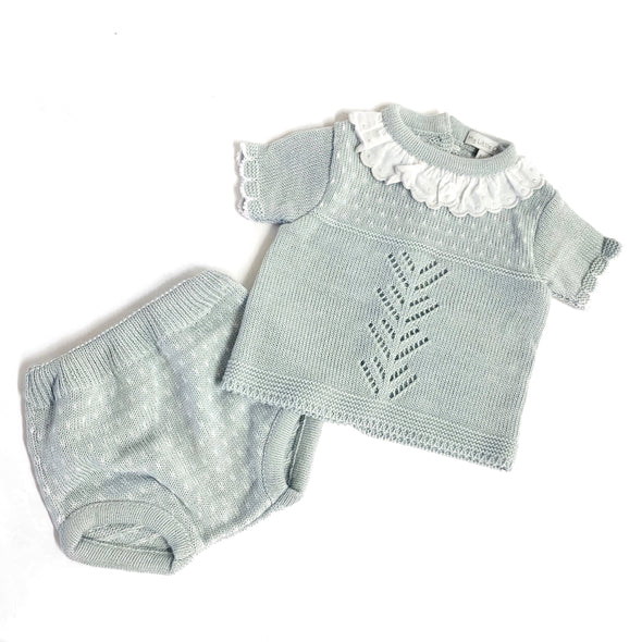 Peyton Grey Knitted Set