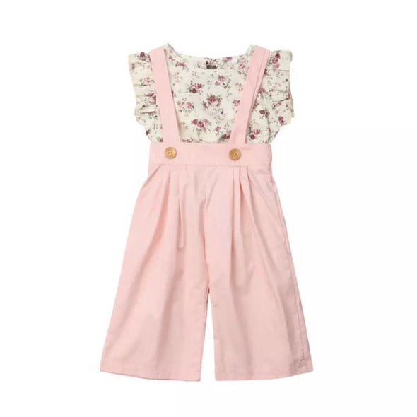 Autumn Two Piece Sleeveless Summer Set