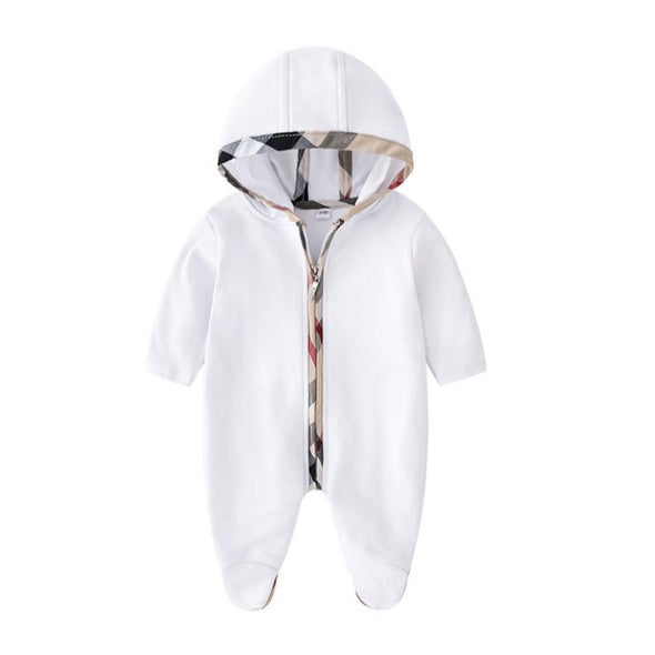 River White Hooded Bodysuit