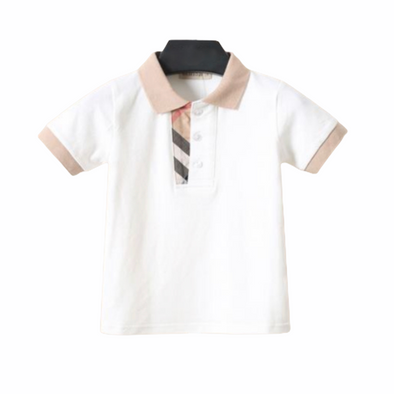 Hayden White Poly T-Shirt