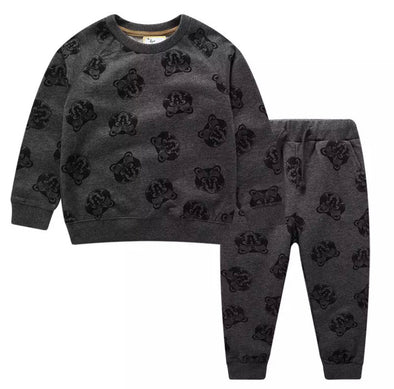 Jackson Grey Animal Tracksuit