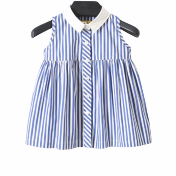 Graze Blue Striped Dress