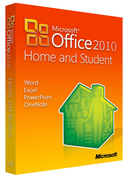 Microsoft Office Home and Student 2010 for Windows PC