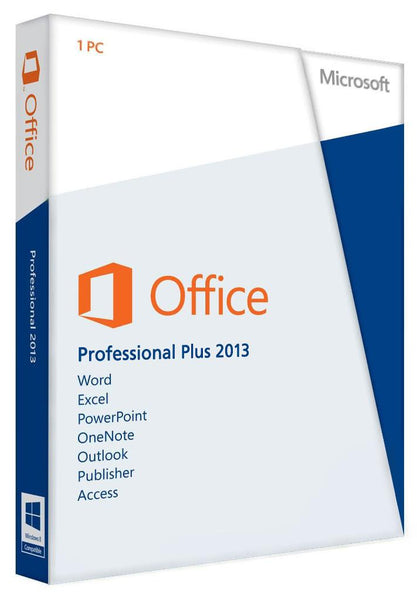 Microsoft Office Professional Plus 2013 for Windows PC