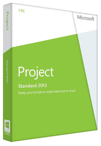 Microsoft Project Standard 2013 for Windows PC