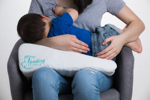 Feeding Friend Self Inflating, Portable Nursing Pillow|Charm Baby Australia