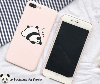 Coque iPhone Panda Dormeur