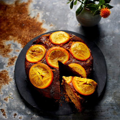 TONIA BUXTON'S ORANGE CARDAMOM CAKE