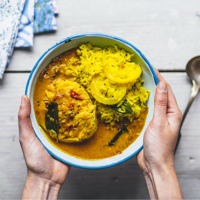 GIZZI ERSKINE'S SOUTH INDIAN FISH CURRY