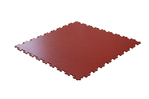 REVÊTEMENT DE SOL CLIPSABLE 50x50 5MM ROUGE | PRO TILE