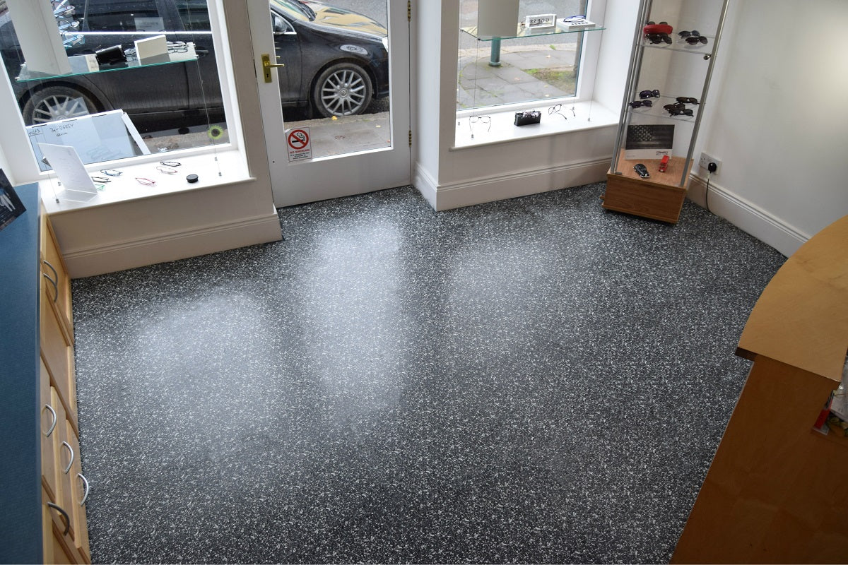 Sol PVC clipsable 10x10 10mm anthracite  Pro Granit - Solutions