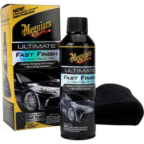 Meguairs Ultimate Fast Finish Aerosol - 241g