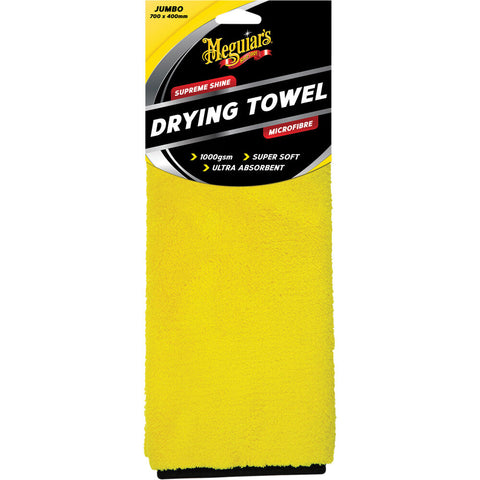 Meguiar's Supreme Shine Drying Towel - 700 X 400mm