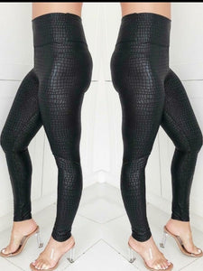 Croc Leggings