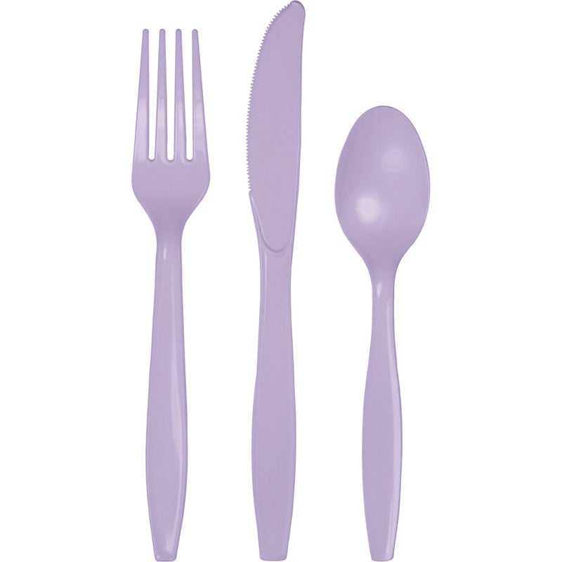 Lavender Assorted Cutlery