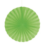 Fresh Lime Paper Fan 16""