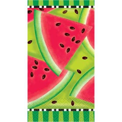 Summer Watermelon Guest Towel Napkins