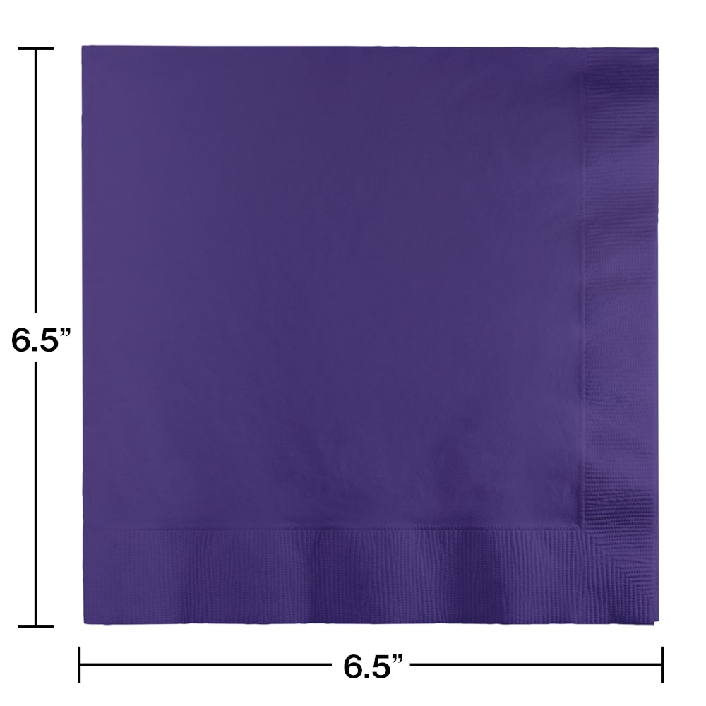 Lunch Napkins 2-Ply Purple