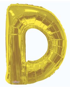 "34"" Shaped Letter Gold"