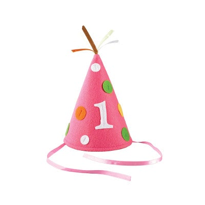 Sweet At One Felt Party Hat
