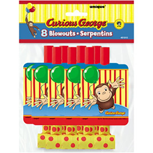 Curious George Blowouts