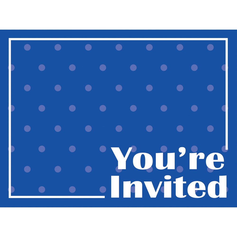 Cobalt Invitations