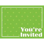 Invitations Fresh Lime