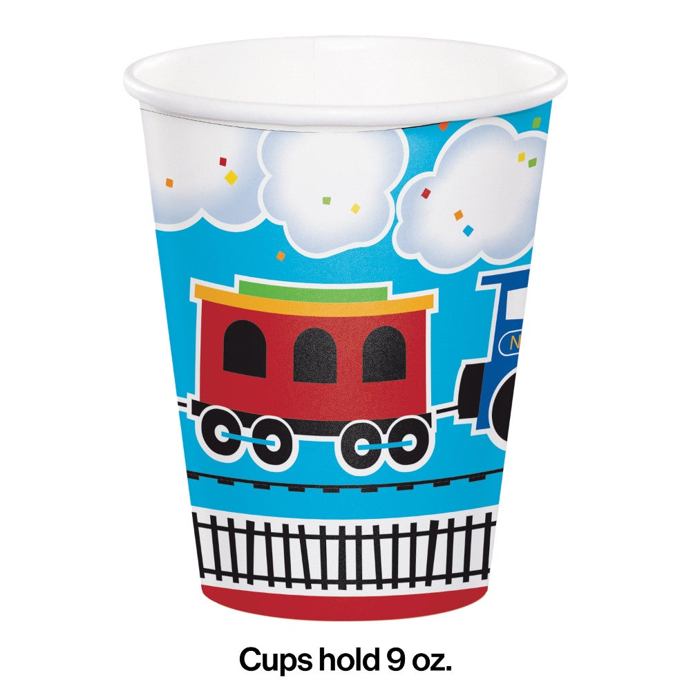All Aboard  Hot/Cold Cups 9 Oz.