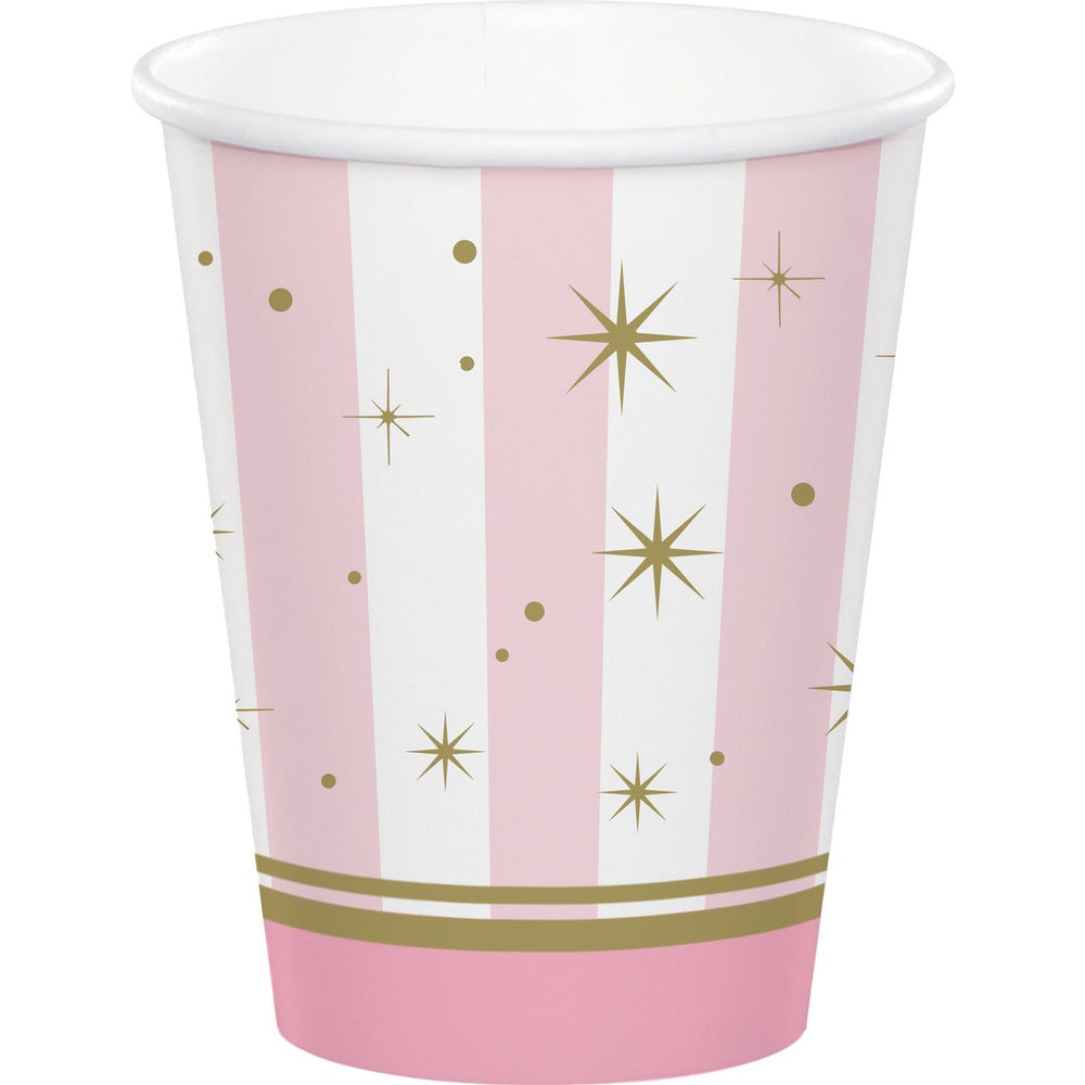 Twinkle Toes Ballerina Paper Party Cups x 8