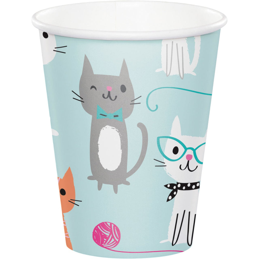 Purr-Fect Party  Hot/Cold Cups